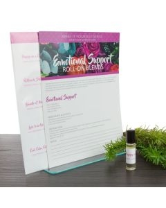 """Emotional Support"" Make-It-Yourself Recipe and Label Set"