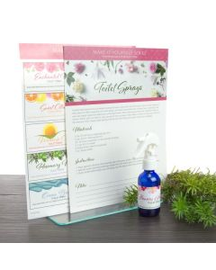 """""""Toilet Sprays"""" Make-It-Yourself Recipe and Label Set"""