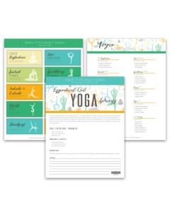 """Yoga Sprays"" Make-It-Yourself Recipe and Label Set"