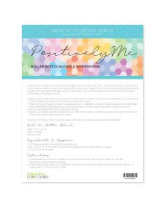 """Positively Me"" Make-It-Yourself Recipe and Label Set"