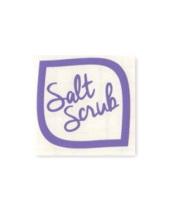 Salt Scrub Vinyl Label