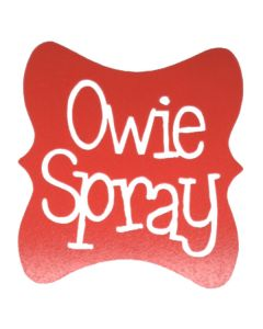 Owie Spray Vinyl Label