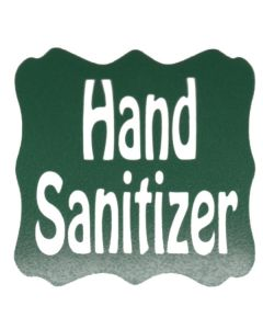 Hand Sanitizer Vinyl Label