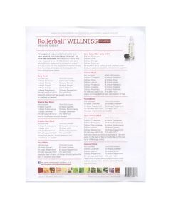"Rollerball ""Wellness"" Recipe Sheets (25 Sheets)"