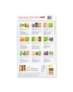 "Rollerball ""Wellness"" Assorted Waterproof Labels (Set of 11)"