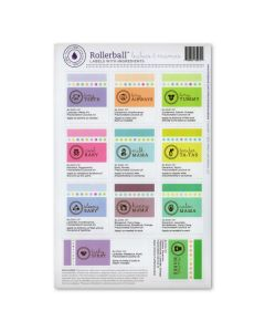 "Rollerball ""Babies & Mama's"" Assorted Waterproof Assorted Labels (Set of 11)"