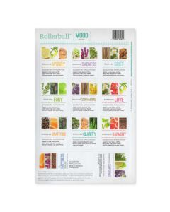 "Rollerball ""Mood Series"" Assorted Waterproof Labels (Set of 11)"