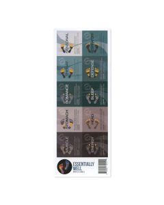 """Essentially Well"" Assorted Waterproof Labels (Set of 10)"