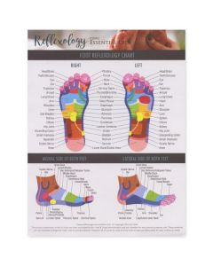 """Reflexology Using Essential Oils"" Tear Pad (25 Sheets)"