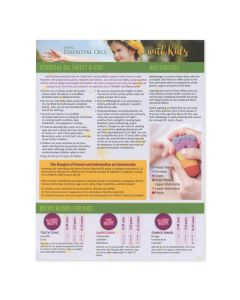 """""""Using Essential Oils with Kids"""" Recipe Tear Pad (25 Sheets)"""