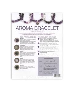 """Amethyst Aroma Bracelet"" Make-and-Take Workshop Kit"
