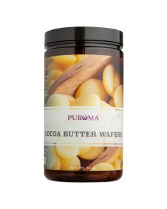 Organic Refined Cocoa Butter Wafers, 16 oz.