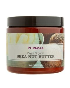 Virgin Organic Unrefined Raw Shea Butter, 14 oz.