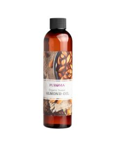 Organic Sweet Almond Oil, 8 oz.