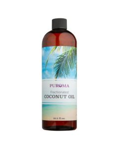 Fractionated Coconut Oil, 16 oz.