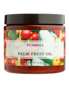 Organic Palm Fruit Oil, 14 oz.