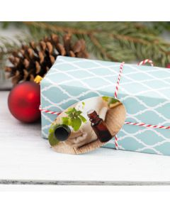Assorted Oval Aroma Share Gift Tags (Set of 12)