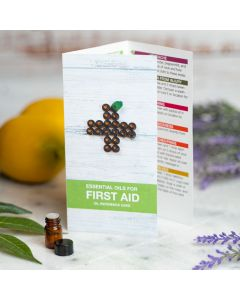 """Essential Oils For First Aid"" Oil Reference Card (Set of 10)"