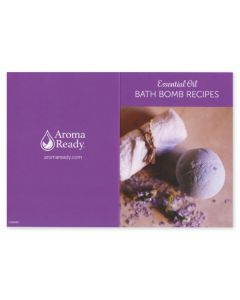 Essential Oil Bath Bomb Recipes Card (Set of 10)