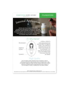 """Internal Application"" Mini Tear Pad (50 Sheets)"