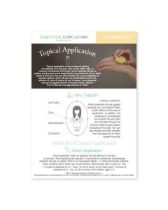 """Topical Application"" Mini Tear Pad (50 Sheets)"