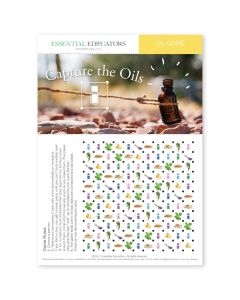 """Capture the Oils Game"" Mini Tear Pad (50 Sheets)"