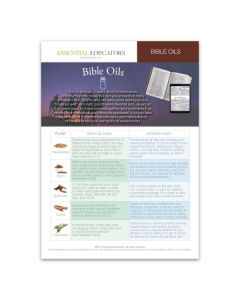 """Oils of the Bible"" Mini Tear Pad (50 Sheets)"