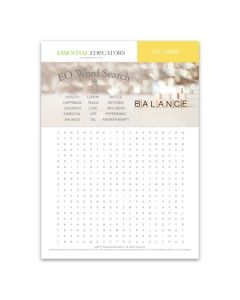 Word Search and Scramble Games Mini Tear Pad (50 Sheets)