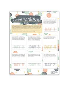 """2 Week Oil Challenge"" Tear Pad (50 Sheets)"