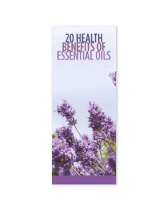 """20 Health Benefits of Essential Oils"" Brochures (Set of 25)"