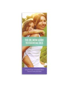 """The Dr. Mom Guide to Essential Oils"" Brochure (Set of 20)"