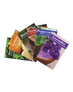 Essential Educators Assorted Mini Oil Reference Guides (Set of 72)