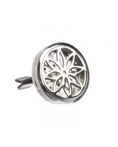 Daisy Stainless Steel Diffusing Car Locket