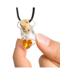 Perfuser Aroma Necklace with Essential Oil Vial