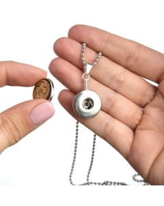 Pendant Diffusing Necklace for Switchable Wood Snaps