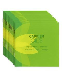 """Carrier Oils"" Booklet (Set of 10)"