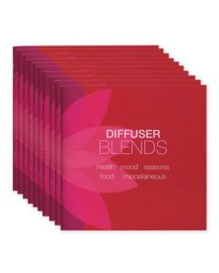 """Diffuser Blends"" Booklets (Set of 10)"
