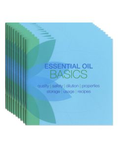 """Essential Oil Basics"" Booklet (Set of 10)"