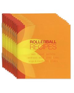 """Rollerball Recipes"" Booklet (Set of 10)"