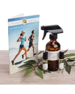 """Essential Fitness"" Recipe Booklet with Labels"