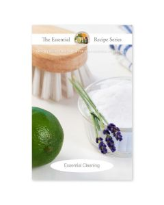 """Essential Cleaning"" Recipe Booklet with Labels"