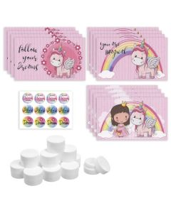 Assorted Unicorn DIY Lip Balm Gift Set