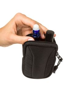 Aroma Ready Key Chain Case for 15 ml Vials or Roll-ons (Holds 2-3 Vials)