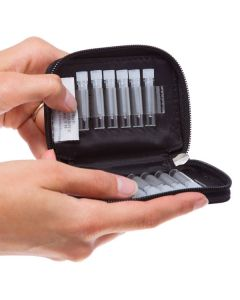 Aroma Ready Sample Case for 1/6 Dram Vials (Holds 12 Vials)