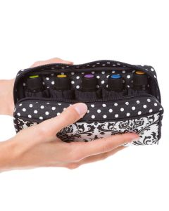 Stylish Dr. Mom Essential Oil Carrying Case for 15 ml Vials (Holds 10 vials)