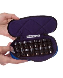 Essential Bags Small Carrying Case for 5/8 Dram Vials (Holds 16 Sample Vials)