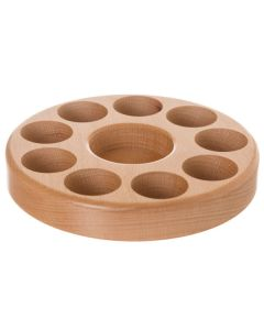 Beechwood Circular Essential Oil Caddy