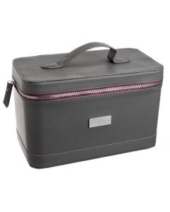 Luxury, Double-Layer Train Case (Holds 73 Vials)