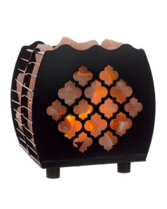 Hybrid Moroccan Lamp Basket with Himalayan Salts