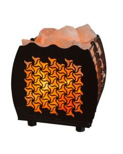 Hybrid Tristar Lamp Basket with Himalayan Salts